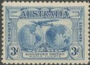Australia KGV SG122 1931 3d Kingford Smith's World Flights (AGCM/633)